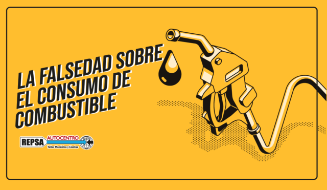 la falsedad de consumo de combustible