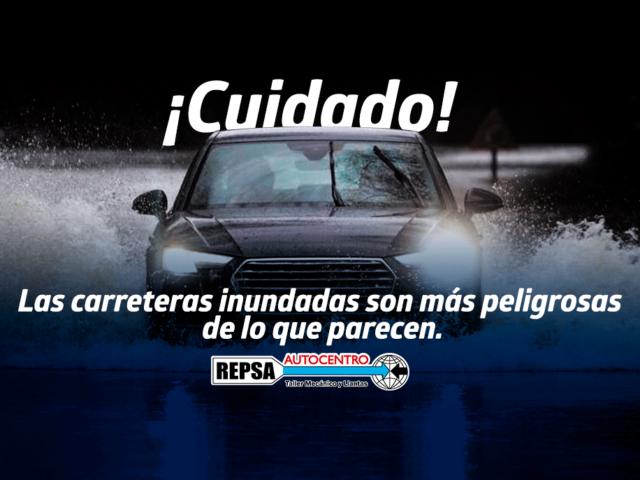 carreteras inundadas